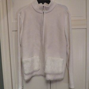 Lisa International Winter White Sweater
